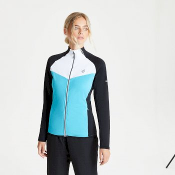 Allegiance II Core Stretch-Midlayer für Damen Blau