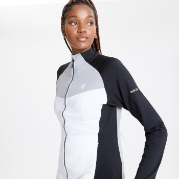 Allegiance II Core Stretch-Midlayer für Damen Weiß