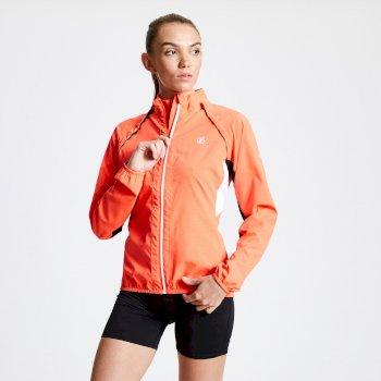 Rebound leichte Windshell-Jacke für Damen Orange