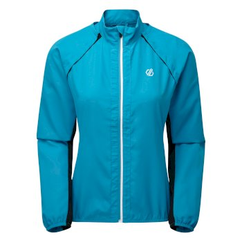 Rebound leichte Windshell-Jacke für Damen Blau