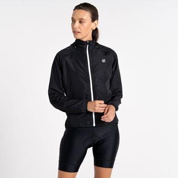 Rebound leichte Windshell-Jacke für Damen Schwarz