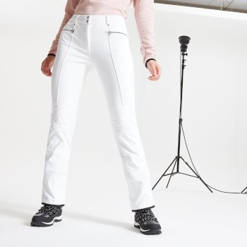 Dare 2b Swarovski Embellished - Women's Inspired Waterproof Luxe Ski Pants - White