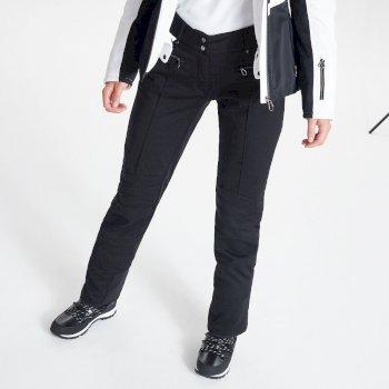 Swarovski Embellished - Aspiring Luxe Wasserdichte Skihose für Damen Schwarz