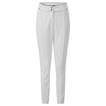 Swarovski Embellished - Upshape Luxe Wasserdichte Skihose für Damen Weiß
