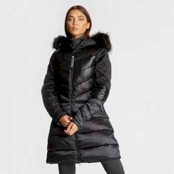 Dare 2B x Julien Macdonald Baroness - Damen Stepp-Parka Black