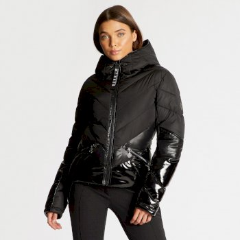 Dare 2B x Julien Macdonald Countess - Damen Jacke - wasserdicht/isoliert Black