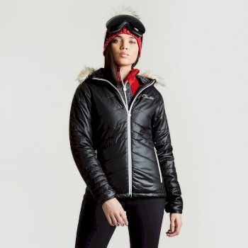 Dare2b Women's Comprise Luxe Ski Jacket Black