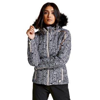 Dare 2B Women's Convolute Luxe Ski Jacket Black