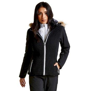 Dare 2B Women's Plica Luxe Ski Jacket Black