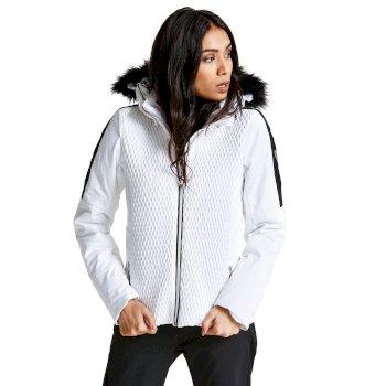 Dare 2B Women's Plica Luxe Ski Jacket White