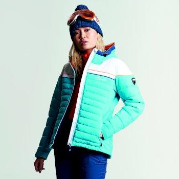 Novela Skijacke für Damen Aqua White