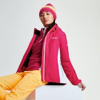 Dare 2b Women's Contrive Ski Jacket - Pink Fusion