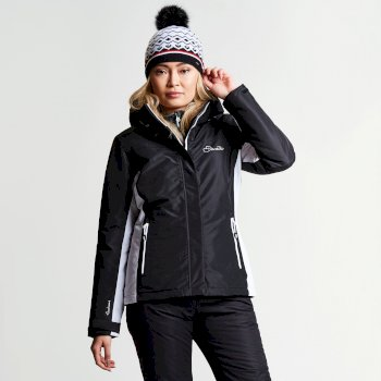 Dare2b Women's Prosperity Ski Jacket Black
