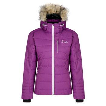 Dare 2b Women's Curator Luxe Ski Jacket - Grape Juice