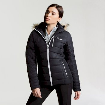 Dare 2b Women's Curator Luxe Ski Jacket - Black