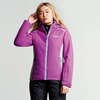 Dare 2b Women's Inflect Ski Jacket - Ultra Violet