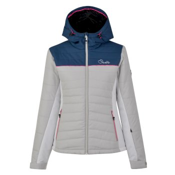 Dare2b Women's Surface Ski Jacket Blue Wing Silver Flash