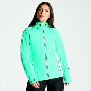 Dare2b Women's Project Ski Jacket Aqua White