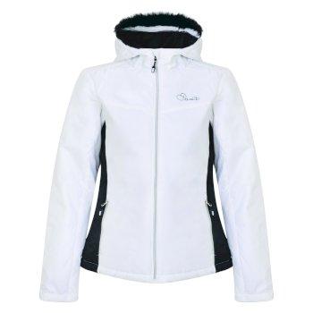 Dare 2b Women's Create Luxe Ski Jacket - White