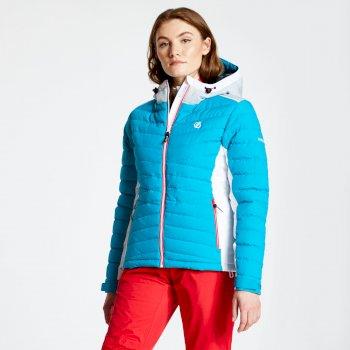 Simpatico - Damen Skijacke - gesteppt Fresh Water Blue