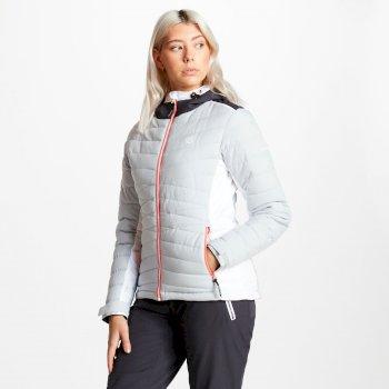 Simpatico - Damen Skijacke - gesteppt Argent Grey