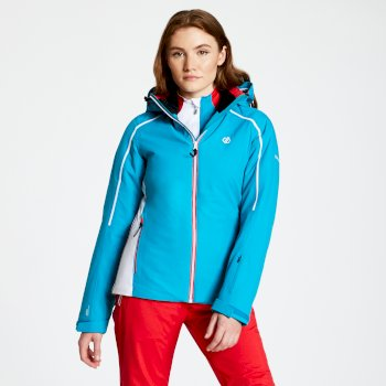 Comity - Damen Skijacke Fresh Water Blue