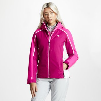 Comity - Damen Skijacke Fuchsia Cyber Pink