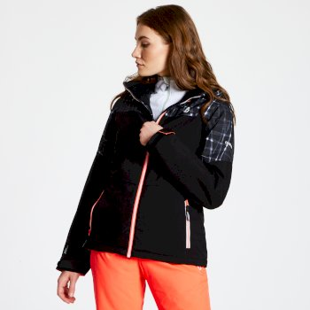 Purview - Damen Skijacke Black Black