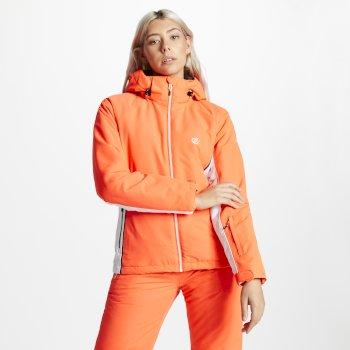 Thrive - Damen Skijacke Koralle