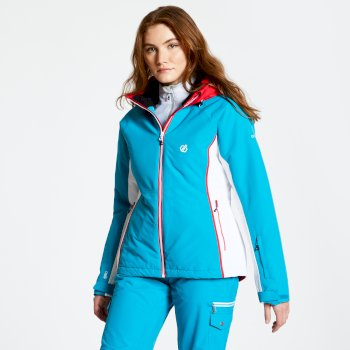 Thrive - Damen Skijacke Fresh Water Blue