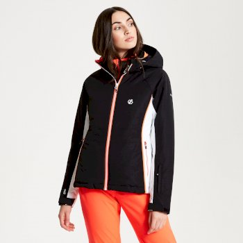 Thrive - Damen Skijacke Black