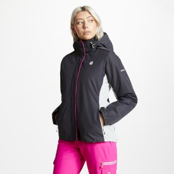 Dare2b Women's Urgency Ski Jacket - Ebony Argent Grey