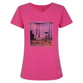 Amora T-Shirt für Damen Cyber Pink