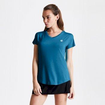 Vigilant Active T-Shirt für Damen Blau