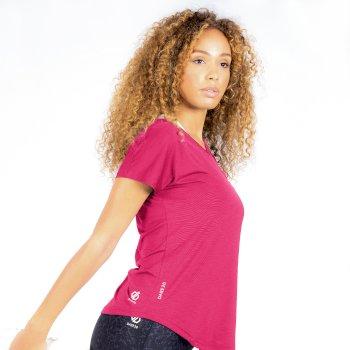 Vigilant Active T-Shirt für Damen Rosa