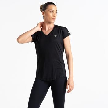 Vigilant Active T-Shirt für Damen Schwarz