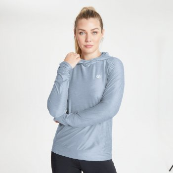 Dare 2b Women's Sprint City Lightweight Hoodie - Celestrial Grey