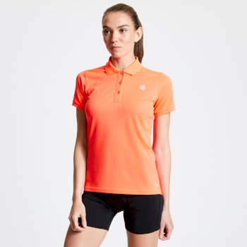 Set Forth Polo-Shirt für Damen Orange