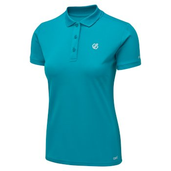 Set Forth Polo-Shirt für Damen Blau