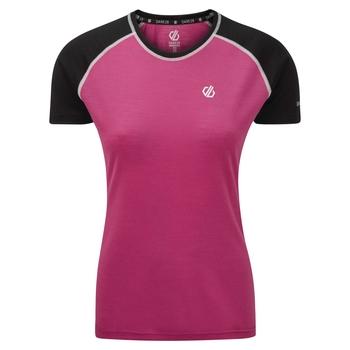 Fixate Woll-T-Shirt für Damen Rosa