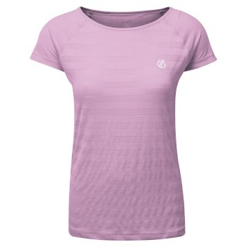 Defy Schnell Trocknendes T-Shirt Rosa