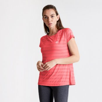 Defy schnell trocknendes T-Shirt Orange