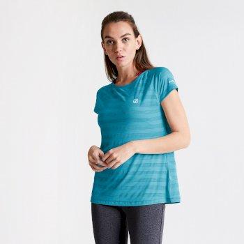 Dare 2b Women's Defy Quick Drying T-Shirt - Freshwater Blue
