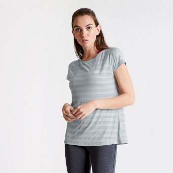 Dare 2b Women's Defy Quick Drying T-Shirt - Argent Grey
