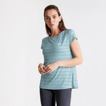 Dare 2b Women's Defy Quick Drying T-Shirt - Cameo Green