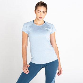 Corral Schnell Trocknendes T-Shirt Für Damen Grau