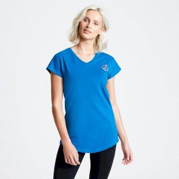 Pastime T-Shirt für Damen Blau