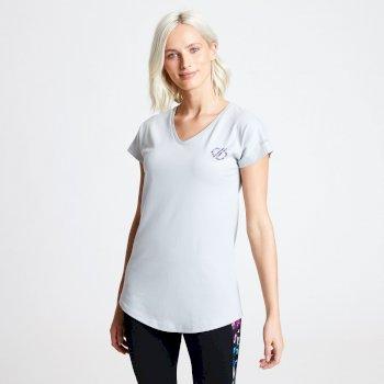 Pastime T-Shirt für Damen Grau