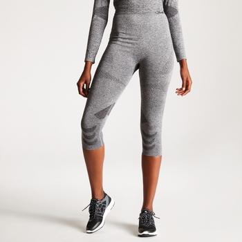 Zonal III 3/4-Legging-Unterhose für Damen Charcoal Grey