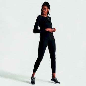 Dare 2b Women's In Mode Base Layer Set - Black